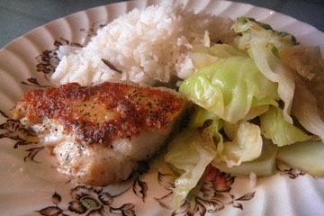blog CP4 Dinner, Rice, Cabbage & Cod_DSCN4544-5.11.17.jpg