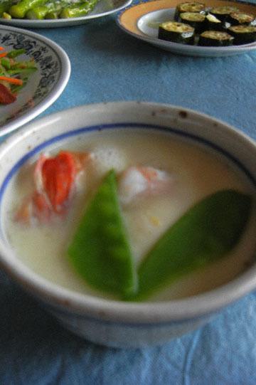 blog CP1 Cooking, Brunch, Karasumi & Harusame, Asparagus, Zuccini, & Chawan-mushi_DSCN4139-3.14.17.jpg