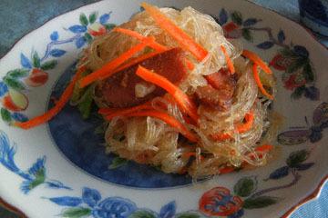 blog CP1 Cooking, Brunch, Karasumi & Harusame, Asparagus, Zuccini, & Chawan-mushi_DSCN4137-3.14.17.jpg