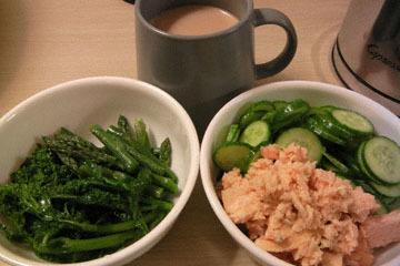 blog CP1 Cooking, Dinner, Asparagus & Broccoli de Rabe, Cucumber & Tuna_DSCN4151-3.17.17.jpg