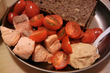 blog Cooking, Dinner, Egg Salad, Cherry Tomatoes & Poached Salmon_DSCN4173-3.20.17.jpg