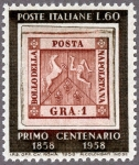 イタリア・ナポリ切手100年