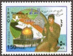 イラク・礼拝するフセイン(2000)