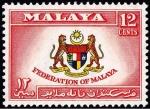 マラヤ連邦(国章・1957年)