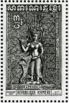 カンボジア・アンコールのアプサラス