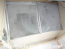 我が家の換気扇 フード付き版(2)