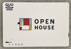オープンハウスからのクオカード