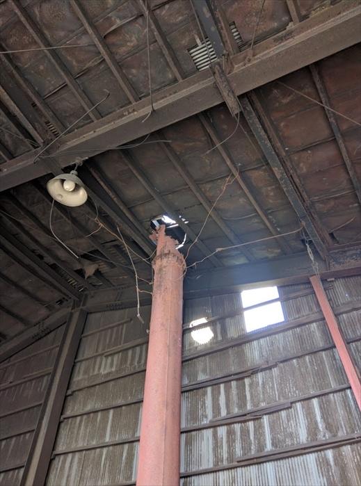 煙突修理1