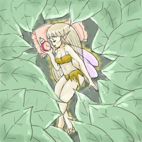 怠け者の秋の精2