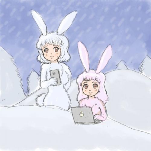 ニホンオトメウサギ2018