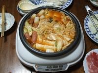1/30 夕食 キムチ鍋