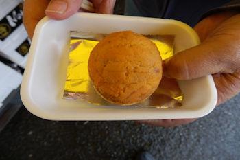 10/14 ウニの貝焼き  那珂湊おさかな市場