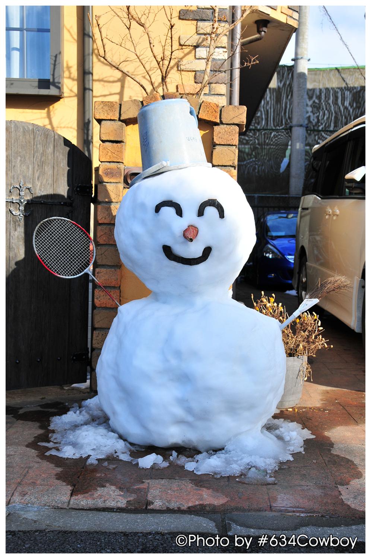 雪だるま 写真