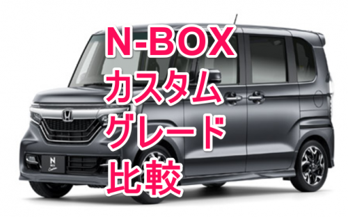 N-BOXカスタム新型グレード比較タイトル