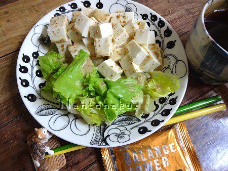 NANTONAKU 9-25 豆腐サラダな朝ランチ 1