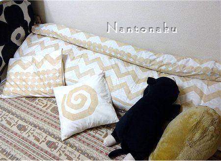 NANTONAKU ベットはないから お布団で寝るけど 可愛くしてます 1