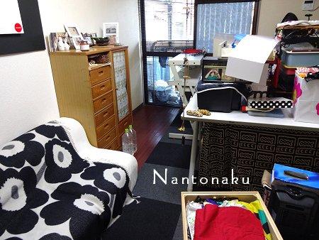 NANTONAKU ブラックリメイクシート張り第2段 家具の移動から 4