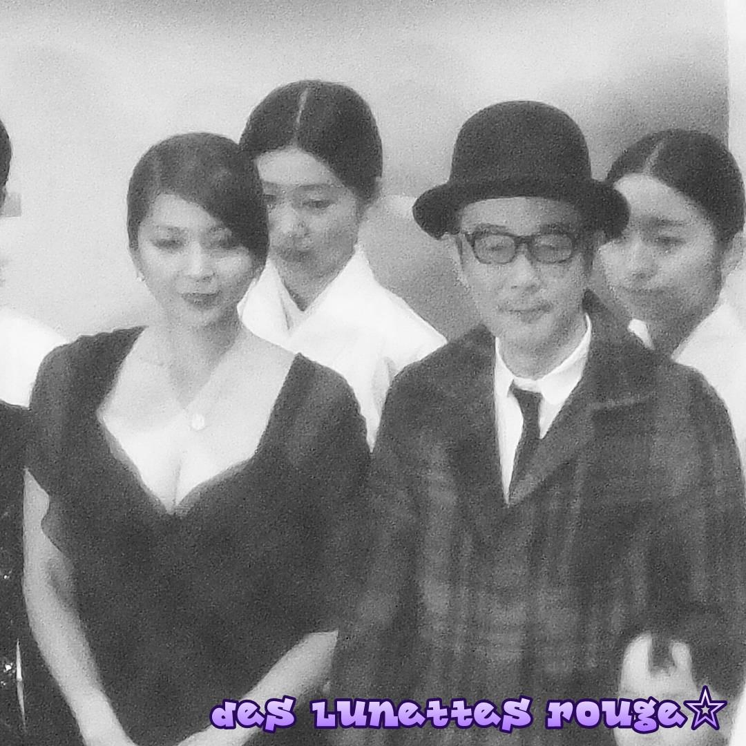 飯島直子&リリー・フランキー