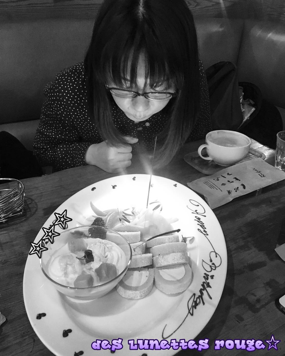祝我生日快樂~♪www