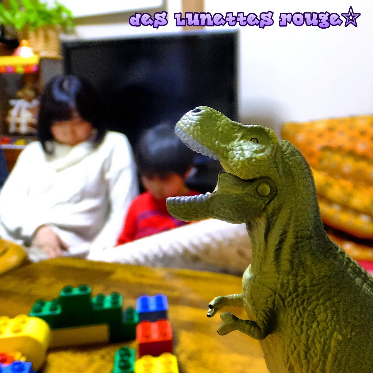 甥っ子&姪っ子&恐竜