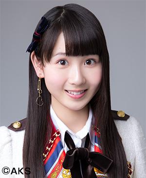 井上瑠夏_2017年SKE48公式プロフィール写真