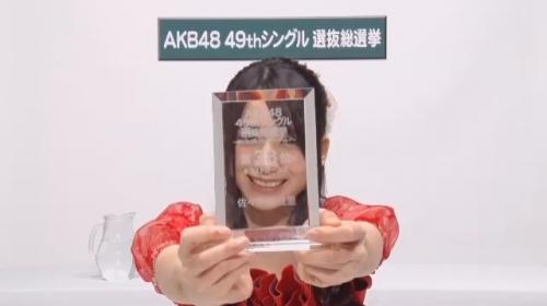 佐々木優佳里_AKB48 49thシングル選抜総選挙アピールコメント動画_画像 (32)