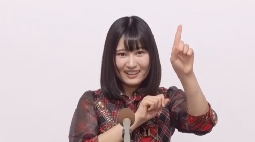 野澤玲奈_AKB48 49thシングル選抜総選挙アピールコメント動画_画像 (338)