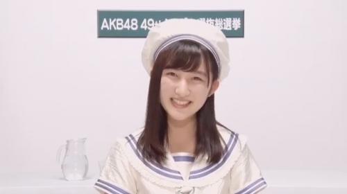 長友彩海_AKB48 49thシングル選抜総選挙アピールコメント動画_画像 (981)