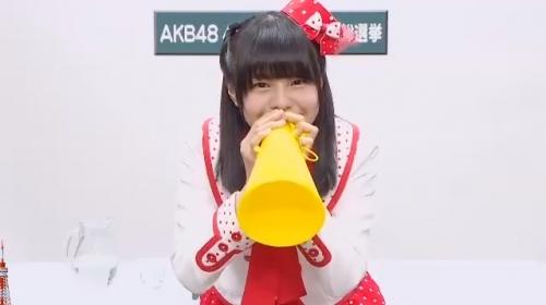 本間日陽_AKB48 49thシングル選抜総選挙アピールコメント動画_画像 (3034)