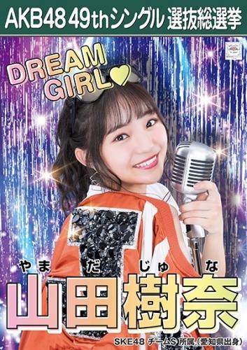 山田樹奈_AKB48 49thシングル選抜総選挙ポスター画像