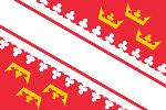 1990年のアルザスの旗
