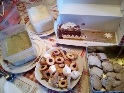クリスマスのデザート