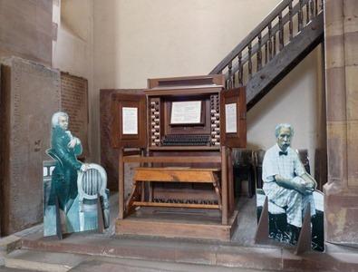 聖トマス教会のオルガン