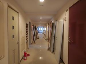 その頃の2階廊下