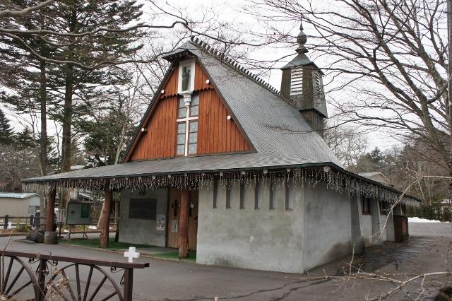 軽井沢聖パウロ教会 2