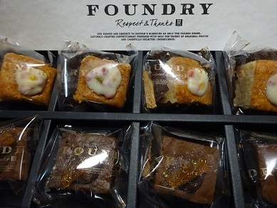 FOUNDRYのお菓子