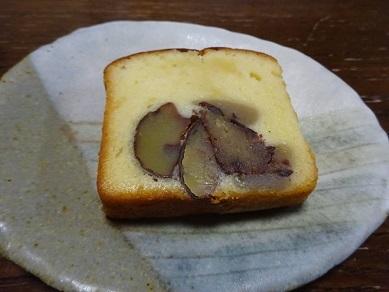 小布施堂の栗あんケーキ