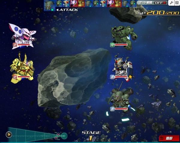 SDOP サブアカ シロッコ&ハマーン戦2