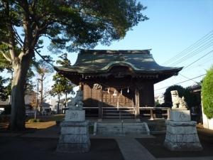 杉山神社祠
