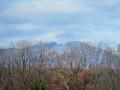 泉ヶ岳を望む