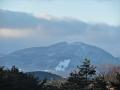 泉ヶ岳を眺める