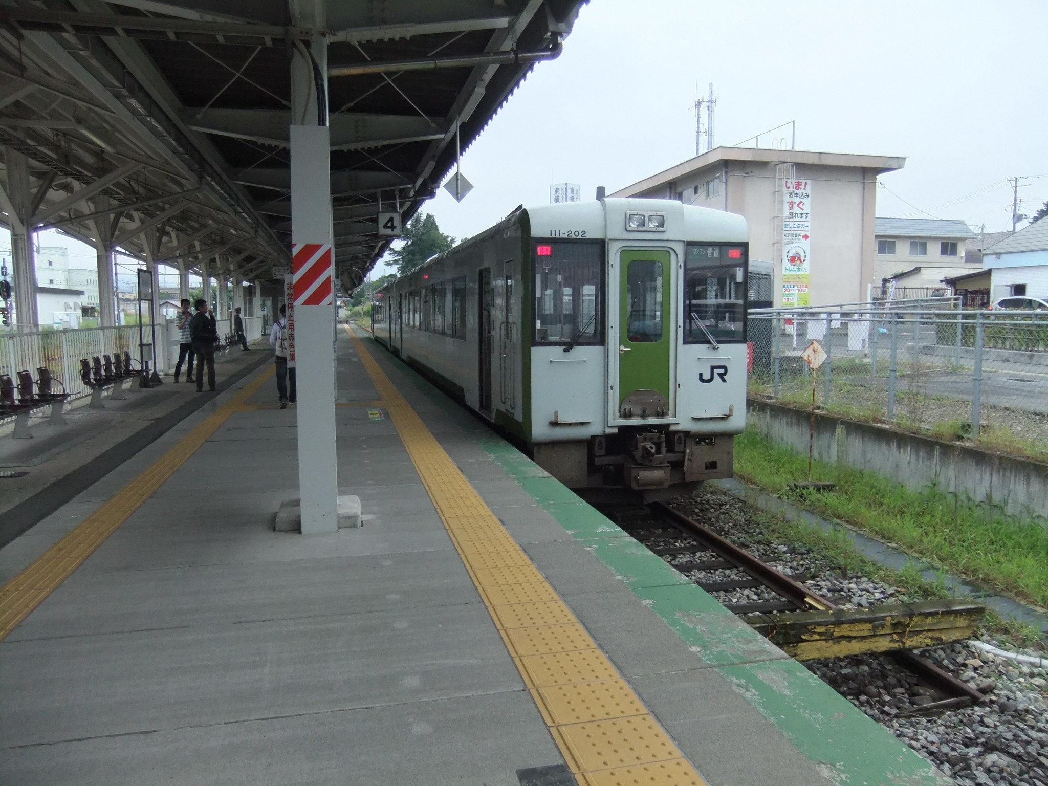 米坂線キハ110