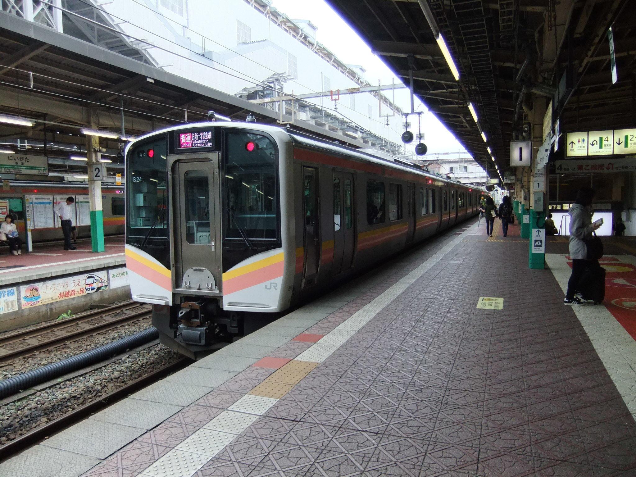 新潟駅E129