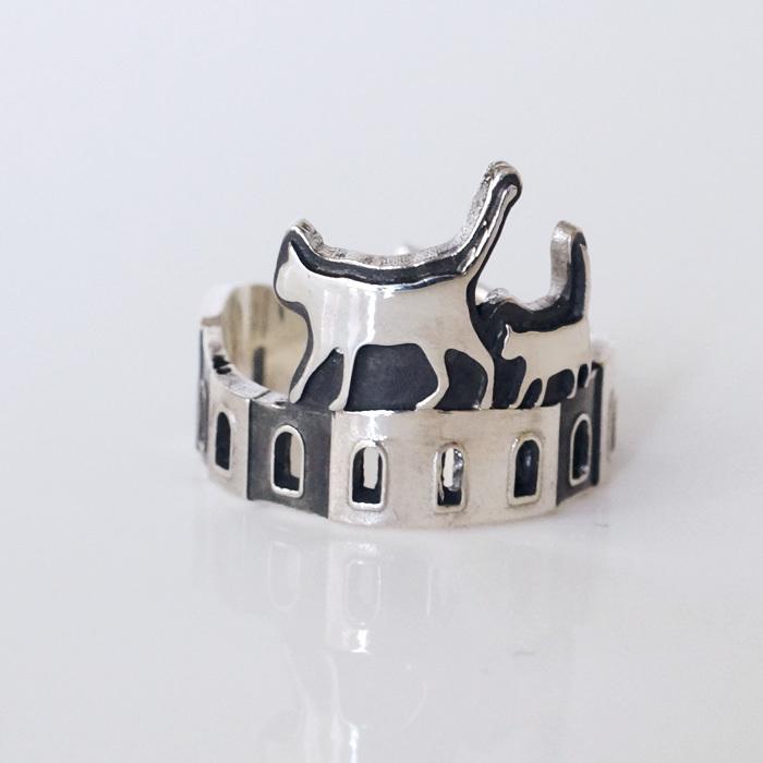 NEW☆猫のお散歩♪ほのぼのリング