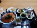 イクラサーモン丼