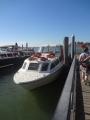 ムラーノ島に向かう船