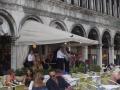サンマルコ広場のレストラン