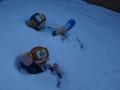 雪の中のパーマン&2号