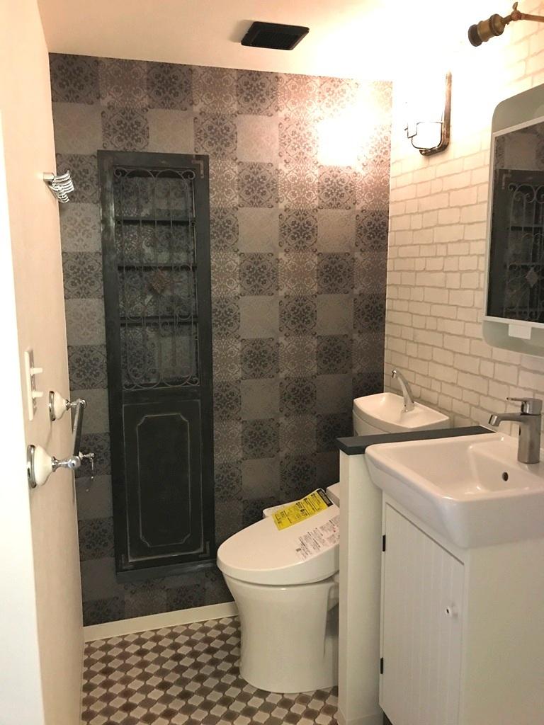 2017-09-09 かざみどり202 トイレ洗面