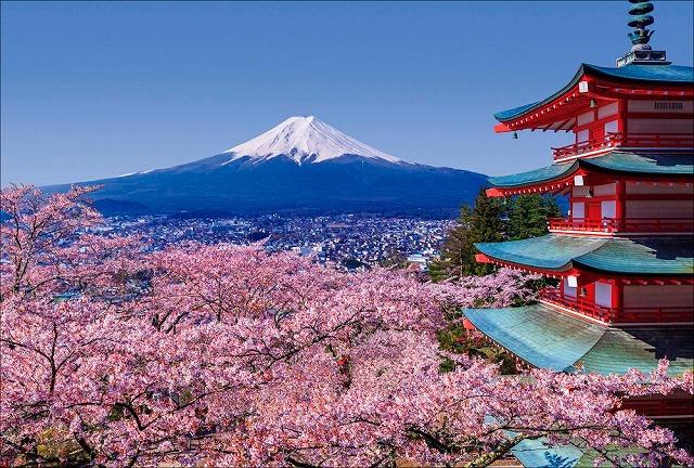 新倉富士浅間神社(春の様子)